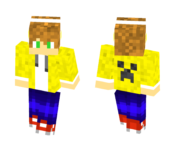 Goldn Xploshun - Male Minecraft Skins - image 1