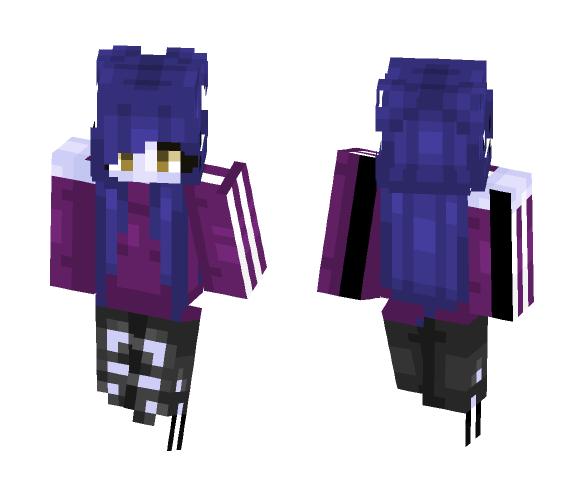 Widowmaker inspired skin ~ Elec - Female Minecraft Skins - image 1