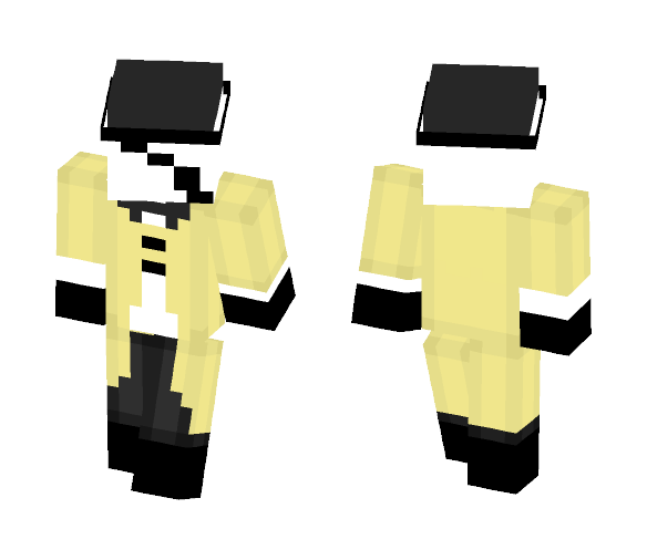 Bill Cipher Cosplay Base - Other Minecraft Skins - image 1