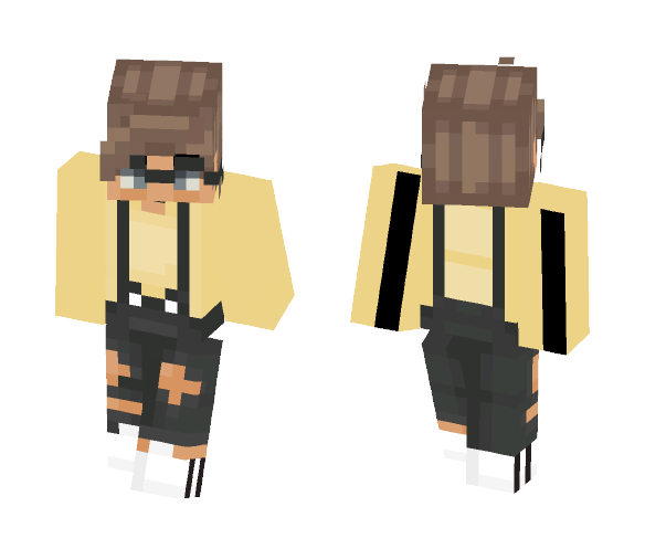 i tried to make myself?? - Male Minecraft Skins - image 1