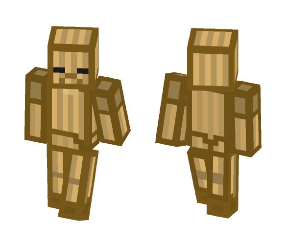 Cardboard Zombie - Male Minecraft Skins - image 1