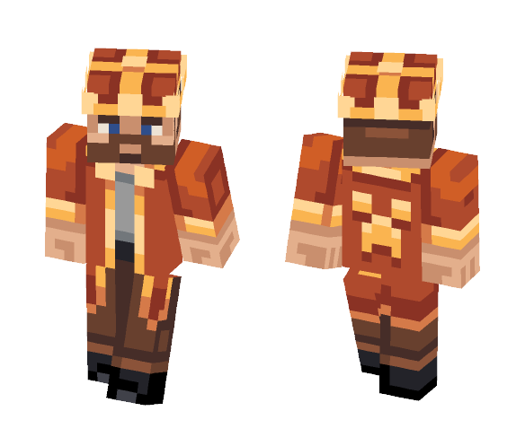 Just a King - Male Minecraft Skins - image 1