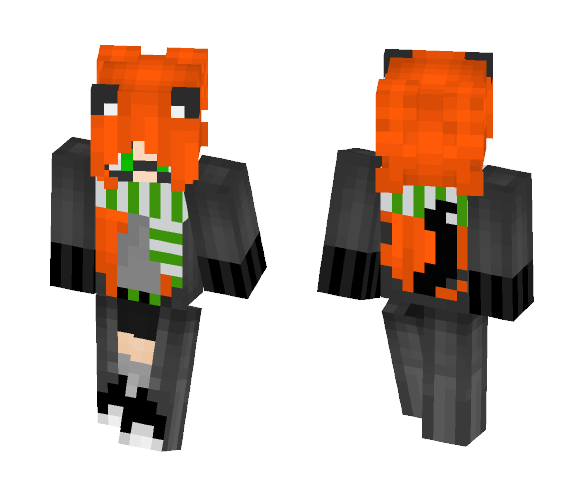 Slytherin Robe (Requests are Open) - Female Minecraft Skins - image 1