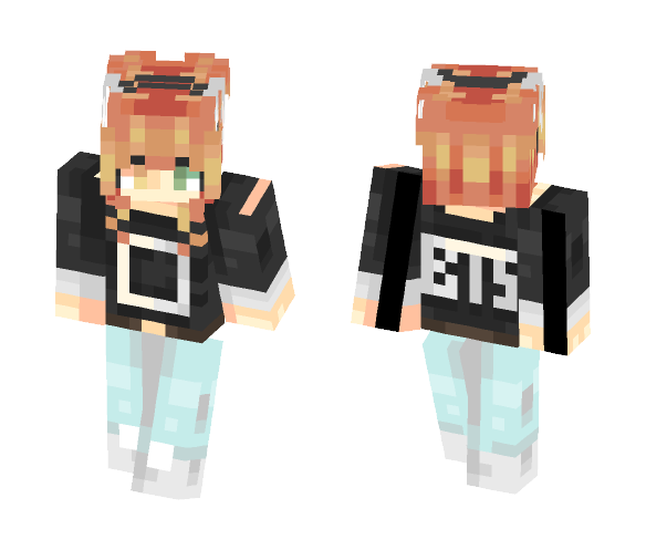 BTS~~~~~ - Female Minecraft Skins - image 1