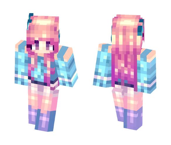 Falling Silent - Female Minecraft Skins - image 1