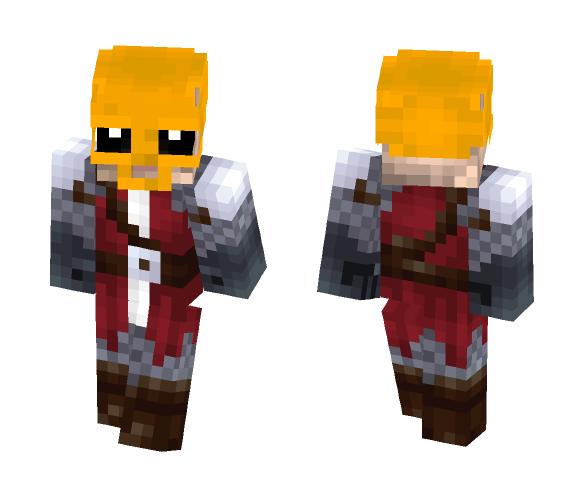 Golden Skull General - Male Minecraft Skins - image 1