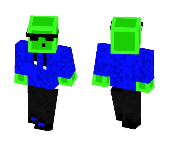 slime boy - Boy Minecraft Skins - image 1