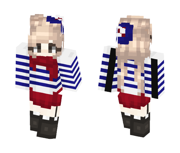 Late Fourth of July - Female Minecraft Skins - image 1
