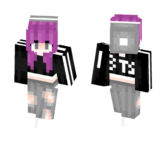 _+S U N S H I N E+_ Trendy Fangirl - Female Minecraft Skins - image 1
