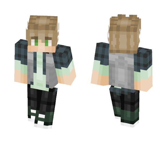 Mint I Guess - Male Minecraft Skins - image 1