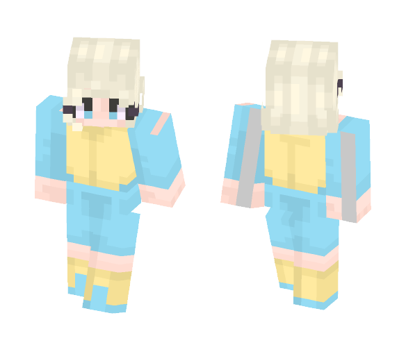 Pff, a fish. - Female Minecraft Skins - image 1