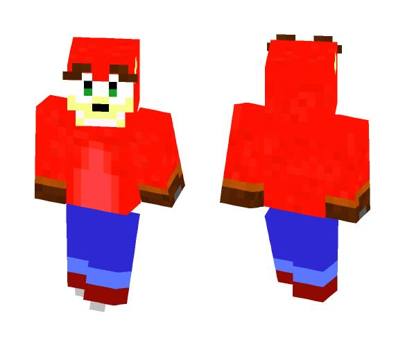 Crash Bandicoot - Male Minecraft Skins - image 1