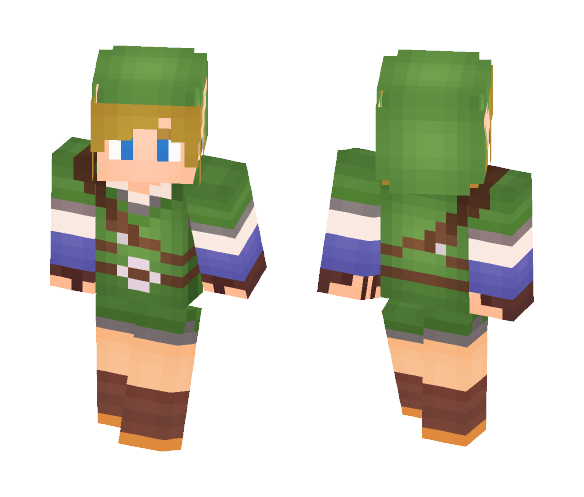 Link - Skyward Sword - Male Minecraft Skins - image 1