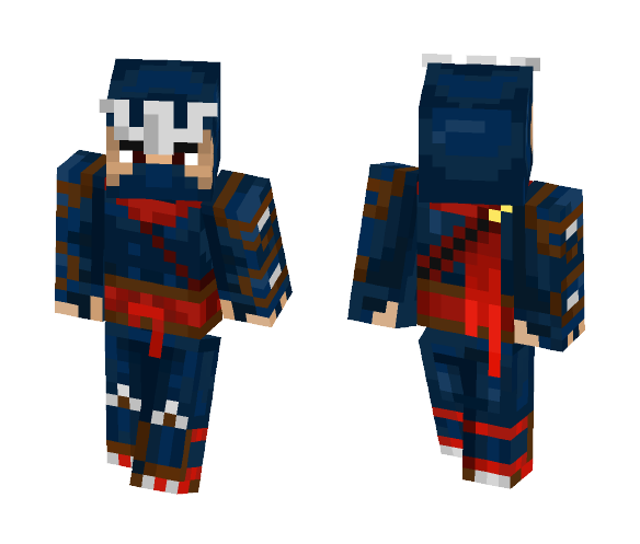 Hayabusa shadow of Iga (request) - Male Minecraft Skins - image 1