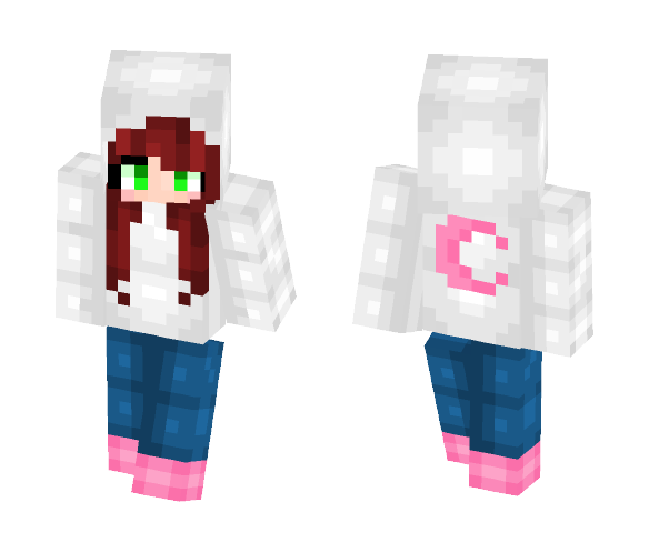 Moon girl - Girl Minecraft Skins - image 1