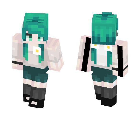 ♡ I'm sorry ♡ - Female Minecraft Skins - image 1