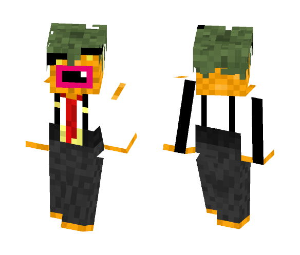 Detective Pineapple - Male Minecraft Skins - image 1