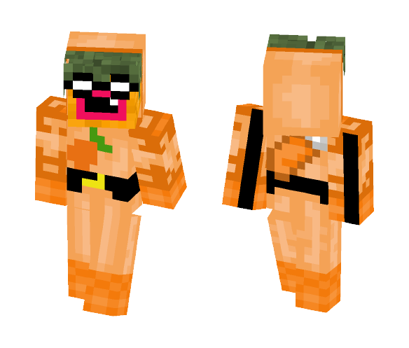 The PINEAPPLE Arrow - Male Minecraft Skins - image 1