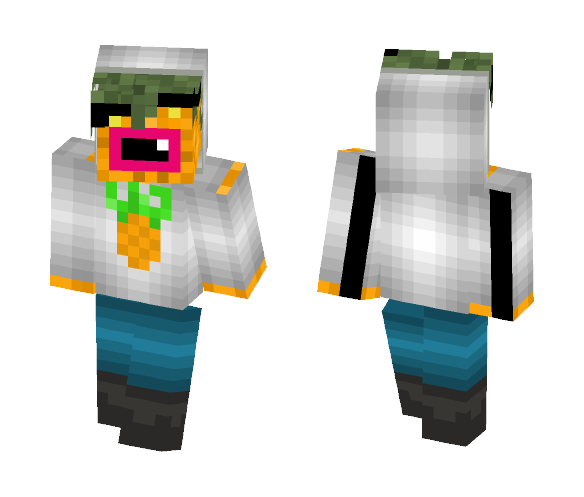 Has clothes on (pineapple) - Male Minecraft Skins - image 1