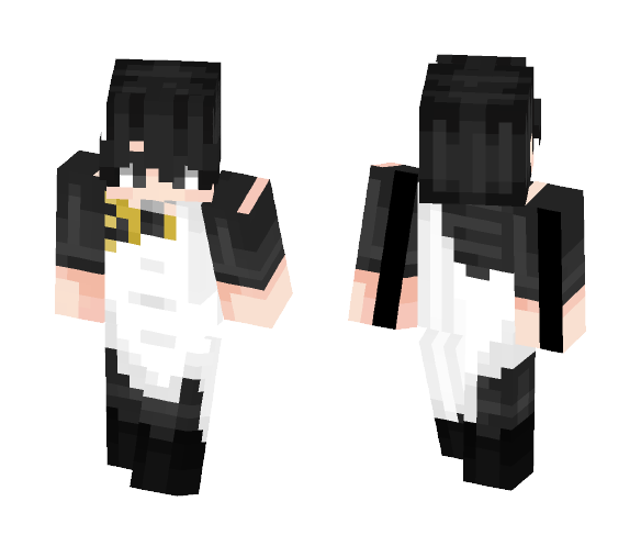  -={Fairy Tail}=- -=Zeref=-  - Male Minecraft Skins - image 1