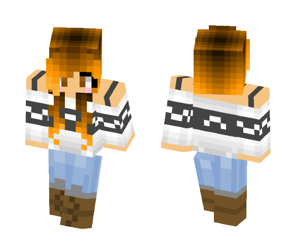 Cute Sweater - Female Minecraft Skins - image 1