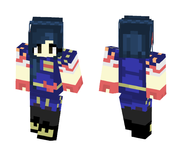 Evie Descendants 2 - Female Minecraft Skins - image 1