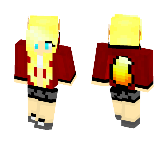 Kapazzle custom - Female Minecraft Skins - image 1