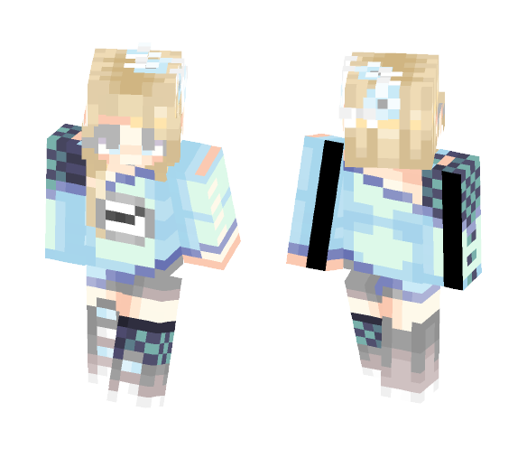 ~+~ Time Wears On ~+~ Contest Entry - Female Minecraft Skins - image 1