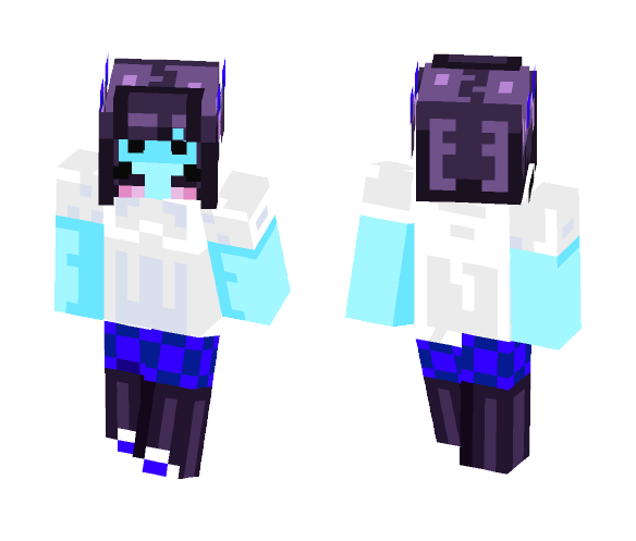 Oceantale Muffet - Female Minecraft Skins - image 1