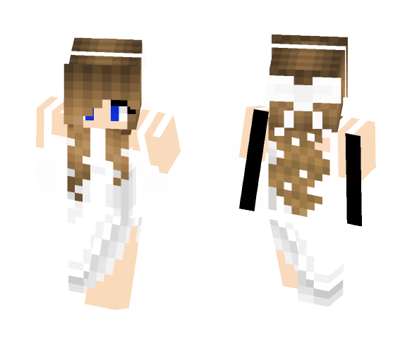 Girl With Dress - Girl Minecraft Skins - image 1