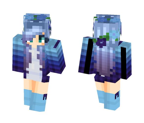 ~Deep Into Gradient~ - Female Minecraft Skins - image 1