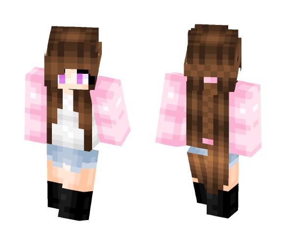 Tumbler pink - Female Minecraft Skins - image 1