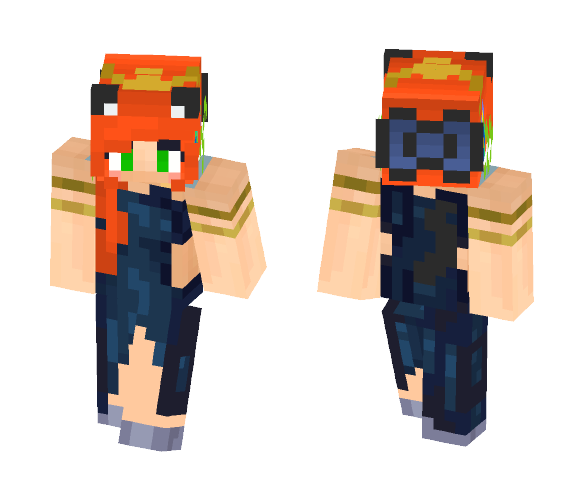 Evening Gown (Requests are Open) - Female Minecraft Skins - image 1