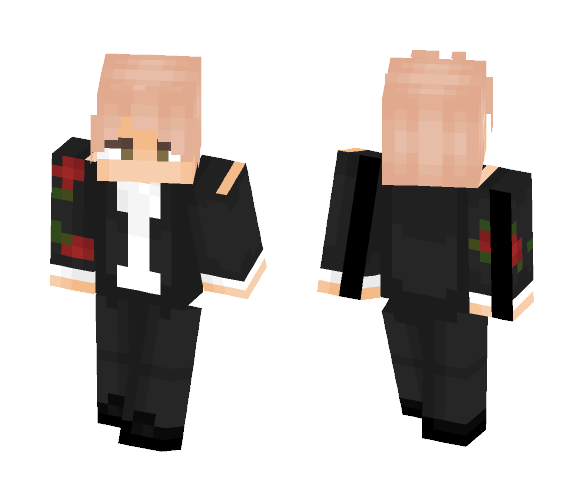 a priceless rose - Male Minecraft Skins - image 1