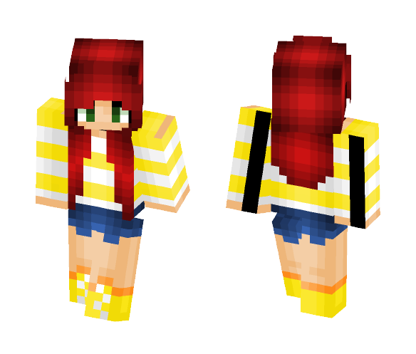 Summer strips - Female Minecraft Skins - image 1