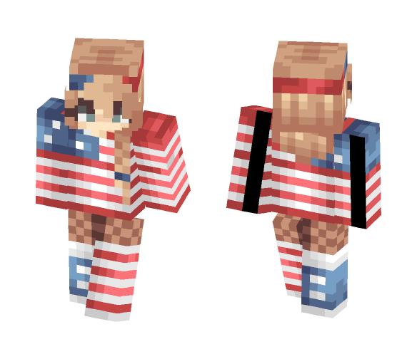 Oops I'm late - Female Minecraft Skins - image 1