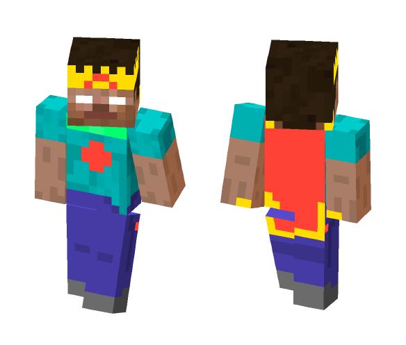 King Herobrine - Herobrine Minecraft Skins - image 1