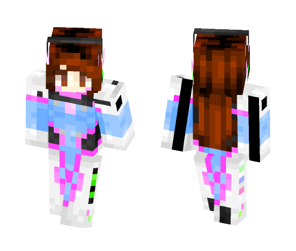 -=+=-{D.Va}-=+=- - Female Minecraft Skins - image 1