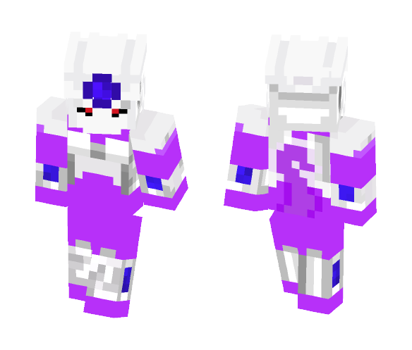 Cooler final form (DragonBallZ) - Male Minecraft Skins - image 1