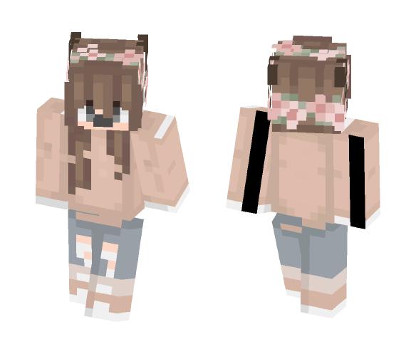 Reindeer Girl :D - Girl Minecraft Skins - image 1