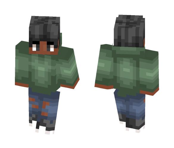 Green Jacket - Male Minecraft Skins - image 1