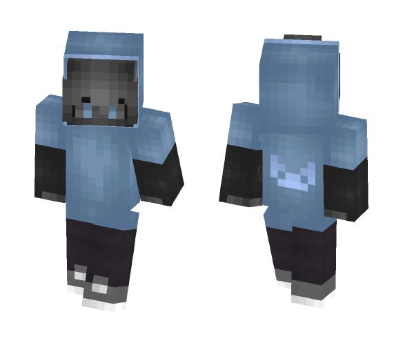 ~Grey girl~ - Female Minecraft Skins - image 1