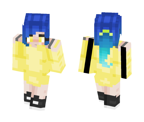 This is a skin.. You can see it... - Female Minecraft Skins - image 1