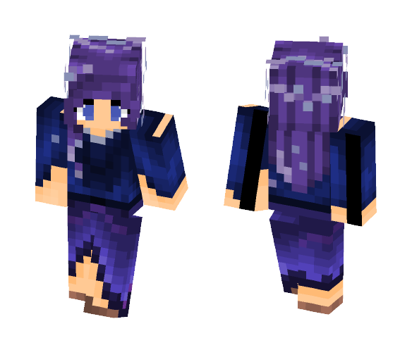 Silent Skies - Female Minecraft Skins - image 1
