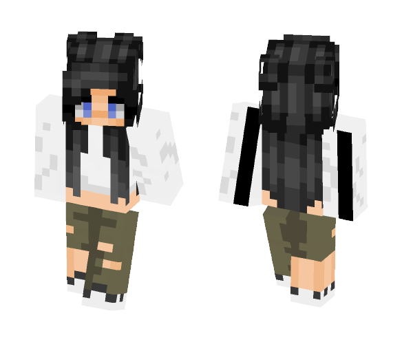 Adidas Girl - Girl Minecraft Skins - image 1