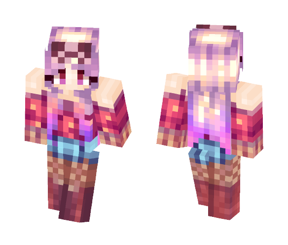 On Your Knees - Female Minecraft Skins - image 1