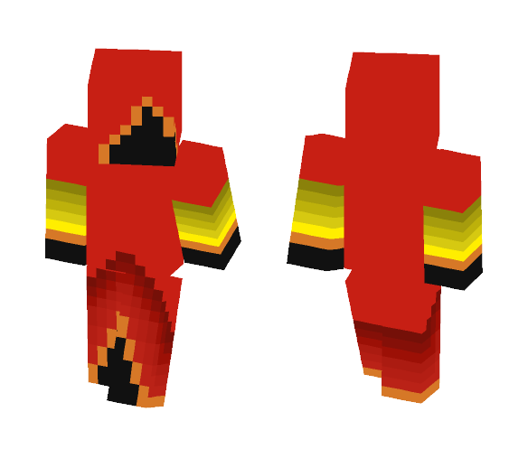 Evil Fire Mage - Interchangeable Minecraft Skins - image 1