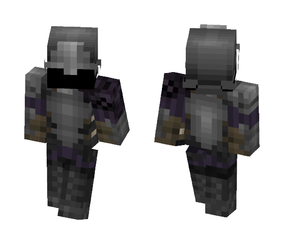 Oren Guard - Open Helm {LOTC} - Male Minecraft Skins - image 1
