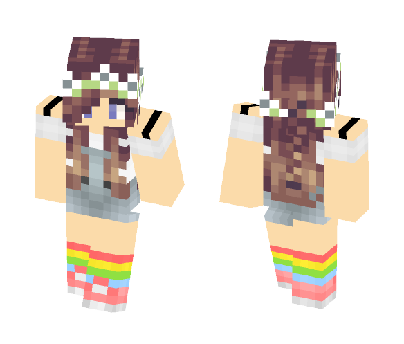 Casual Girl - Girl Minecraft Skins - image 1