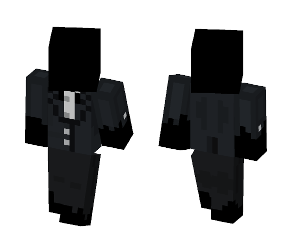 the goust of tuxedos past - Other Minecraft Skins - image 1